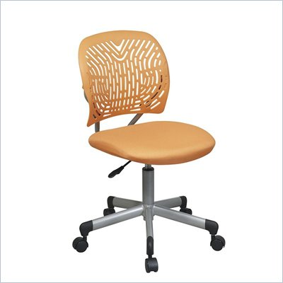 Office Star OSP Designs Seating SpaceFlex Task Chair in Orange
