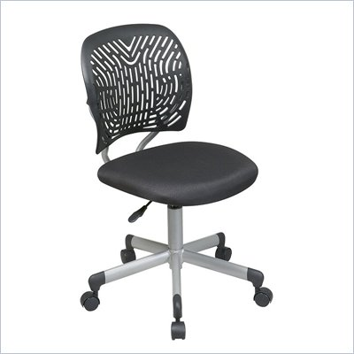 Office Star OSP Designs Seating SpaceFlex Task Chair in Black
