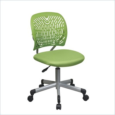 Office Star OSP Designs Seating SpaceFlex Task Chair in Green