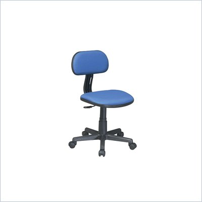 Office Star OSP Designs Seating Task Chair in Blue