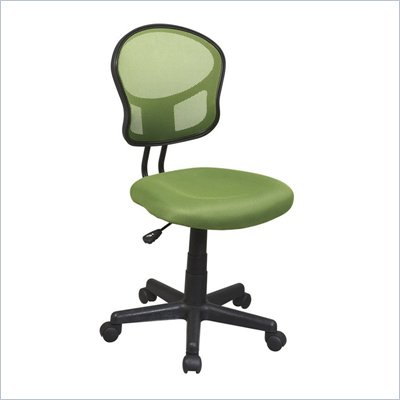 Office Star OSP Designs Seating Mesh Task Chair in Green