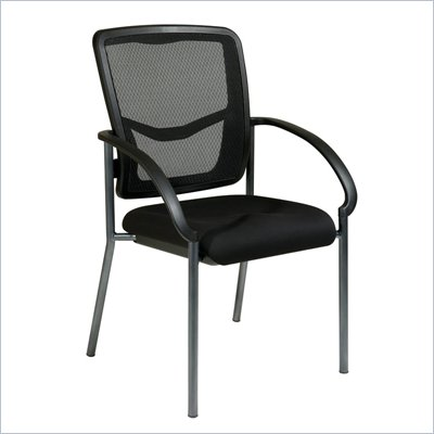 Office Star Pro Line II ProGrid Back Visitors Chair