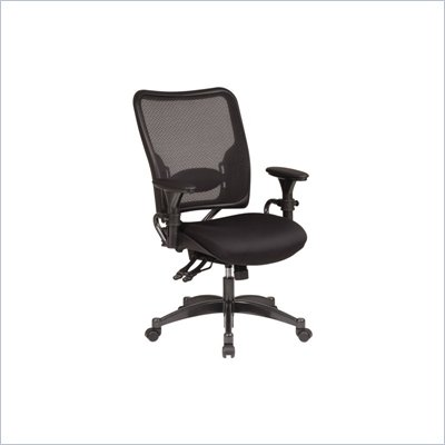 Office Star SPACE Collection Dual Function Air Grid Back Managers Chair