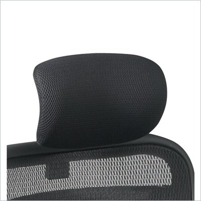 Office Star SPACE Mesh Headrest in Black (Fits 818 Only)