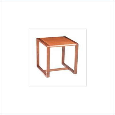 Office Star Oak Finish End Table
