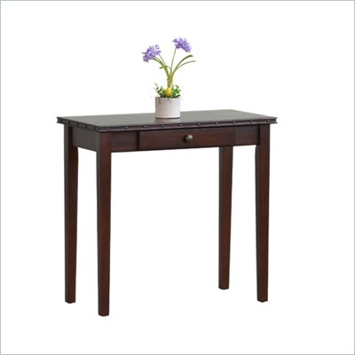 Office Star Tucson Foyer Table in Dark Espresso