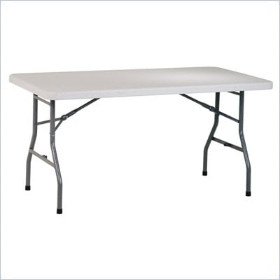 Office Star 5 Foot Resin Multi Purpose Table