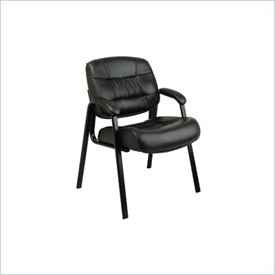 Office Star Leather Guest Chair