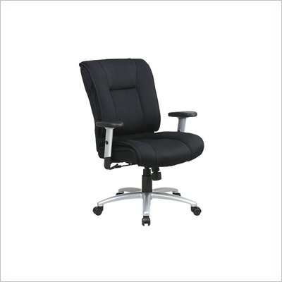Office Star Real Pillow Top Executive Mesh Chair