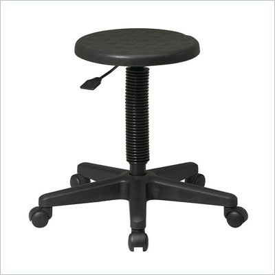 Office Star Self-Skinned Urethane Intermediate Stool