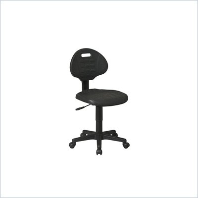 Office Star Urethane Task Chair in Black