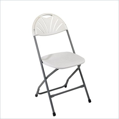 Office Star Plastic Chair (4 Pack)