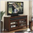 ADD TO YOUR SET: Riverside Furniture Avenue TV Stand in Dark Cherry