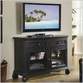 Riverside Furniture Cape May TV Stand in Bayberry Black