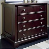 Riverside Furniture Crossings Lateral File Cabinet in Espresso