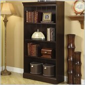 Riverside Furniture Crossings Small Bookcase in Espresso