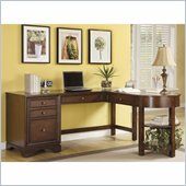 Riverside Furniture Bella Vista Desk and Return