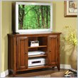 ADD TO YOUR SET: Riverside Furniture Hilborne 44 Inch Corner TV Stand in Burnished Cherry
