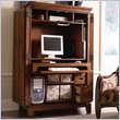 ADD TO YOUR SET: Riverside Furniture American Crossings Computer Armoire in Fawn Cherry
