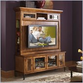 Riverside Furniture Medley 64 Inch TV Stand and Deck