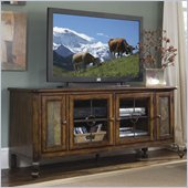 Riverside Furniture Stone Forge TV Stand in Tuscan Sun