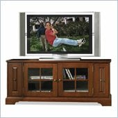Riverside Furniture Visions 64 Inch TV Stand in Bordeaux Cherry