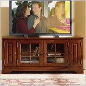 Riverside Furniture Visions 60 Inch TV Stand in Bordeaux Cherry