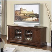 Riverside Furniture Yorktown 60 Inch TV Stand in Vintage Cherry