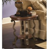 Riverside Ambrosia Round Side Table