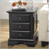 Riverside Furniture Cobble Hill  End Table in Bridgewood Black