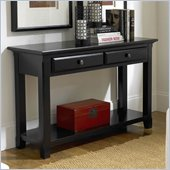 Riverside Furniture Cobble Hill  Sofa Table in Bridgewood Black
