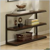 Riverside Furniture Escapade Sofa Console Table in Sweet Rosy Brown