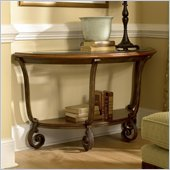 Riverside Fortunado Demi-Lune Sofa Table