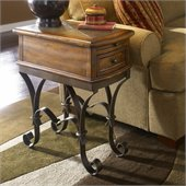 Riverside Stone Forge Chairside Table