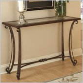 Riverside Furniture Delacourt Sofa Table in Highlands Cherry