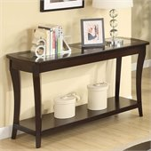 Riverside Furniture Annandale Sofa Table in Dark Mahogany