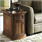 Riverside Medley Door Chairside Chest in Camden / Wildwood Taupe