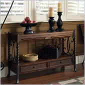 Riverside Furniture Medley Sofa Table in Camden / Wildwood Taupe