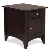 Riverside Furniture Cosmopolitan Door Chest in Espresso