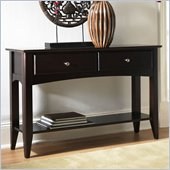 Riverside Furniture Cosmopolitan Sofa Table in Espresso