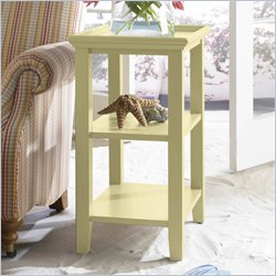 Riverside Splash Of Color Accessory Table in Buttercup Yellow Best Price