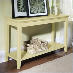 Riverside Splash Of Color Tray Top Sofa Table in Buttercup Yellow Best Price