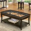 ADD TO YOUR SET: Riverside Furniture Annandale Rectangular Coffee Table in Dark Mahogany
