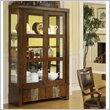 ADD TO YOUR SET: Riverside Furniture Belize China Cabinet in Old Word Distressed Pine