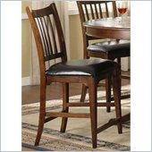 Riverside Furniture Bella Vista Counter Stool in Warm Cherry