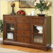 Riverside Furniture Bella Vista Server in Warm Cherry