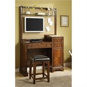 Riverside Furniture Bella Vista Communication Center in Warm Cherry