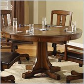 Riverside Furniture Craftsman Home Convert a Height Dining Table