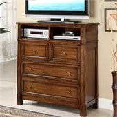 Riverside Furniture Craftsman Home Entertainment Dresser