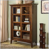 Riverside Furniture Falls Village Bookcase in Distresed Cherry